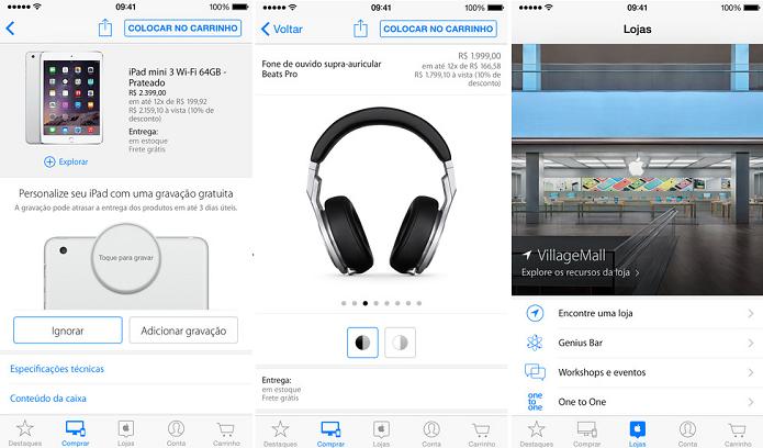 Loja da Apple ganhou suporte ao Touch ID (Foto: Divulgação)