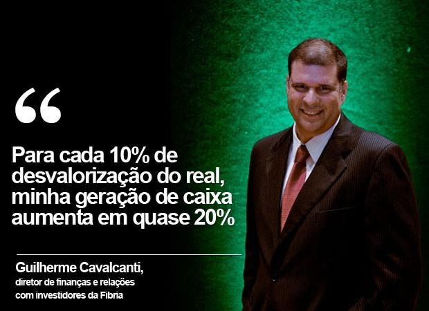 Guilherme Cavalcanti, diretor de finanças e relações com investidores da Fibria (Foto: Divulgação)