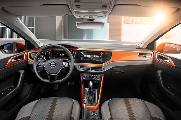 Novo Volkswagen Polo R-Line (Foto: Volkswagen)