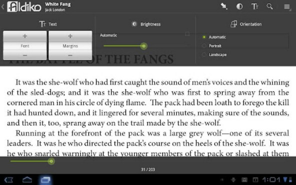 screenshot de Aldiko Book Reader