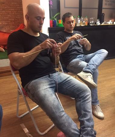 Alberto e André se surpreenderam com suas produções  (Foto: Divulgação/ Reserva Mini)