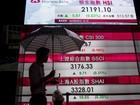 Ações asiáticas caem após inflação fraca na China