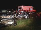 Acidente entre dois carros e caminhão mata uma pessoa em Jaci