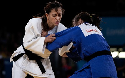 Lucia Teixeira, judô paralimpíadas (Foto: CPB)
