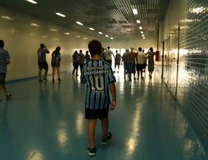 Dalessandro de Campos Facco, torcedor do Grêmio (Foto: Reprodução SporTV)
