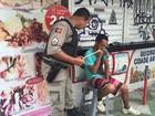 Jovem é agredido com pedrada após ter salário roubado em João Pessoa