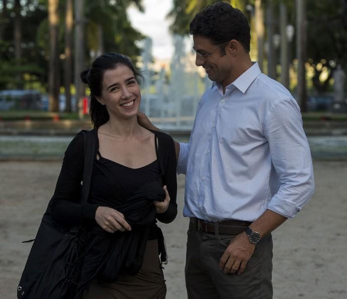 Marjorie e Cauã construíram história de amor profunda para 'Justiça' (Foto: Globo/Estevam Avellar)