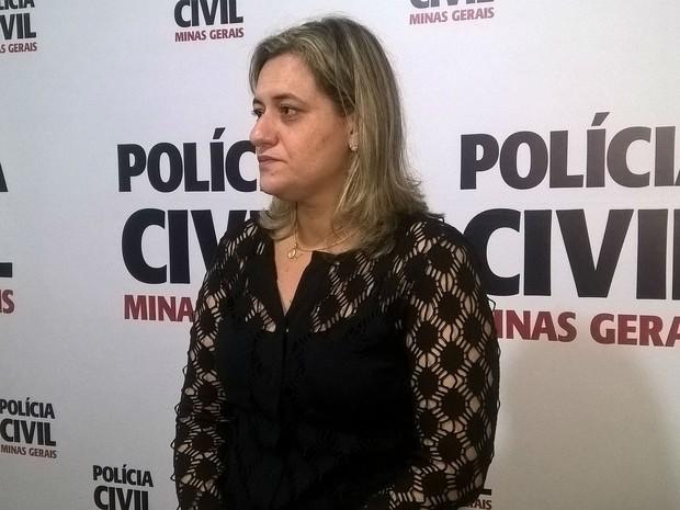 Delegada Patrícia Ribeiro Polícia Civil Juiz de Fora  (Foto: Roberta Oliveira/G1)