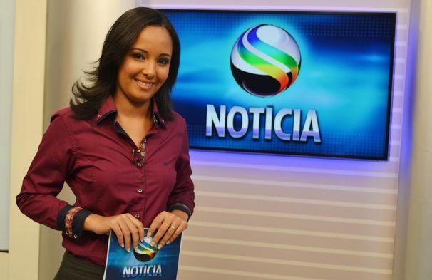 Lays Millena assume a apresentação do Sergipe Notícias, no período da tarde (Foto: Divulgação / TV Sergipe)