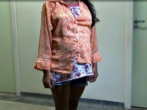 Menina de 10 anos está no sétimo mês de gestação (Foto: Genival Moura/ G1)