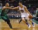 Warriors passam bem pelos Celtics e seguem na cola da liderança do Oeste