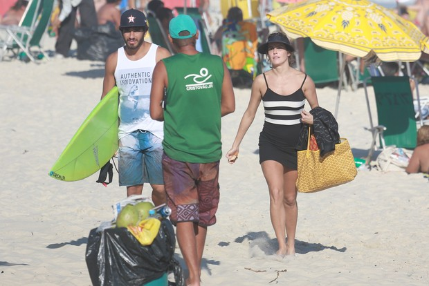 Deborah Secco com o namorado Hugo Moura (Foto: AgNews/Dilson Silva)