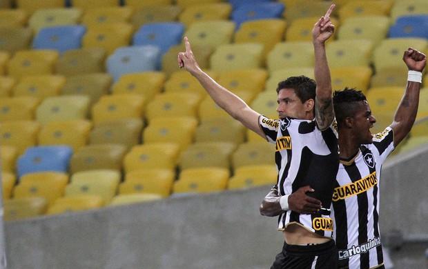 Bolivar gol Botafogo (Foto: Vitor Silva / SSPress)