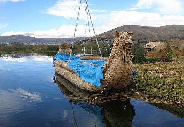 Lago Titicaca, Bolívia (Foto: Wikimedia Commons)