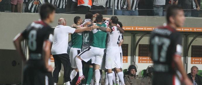 Jogadores do Atlético-MG, Libertadores (Foto: EFE)