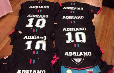Adriano camisa Miami United (Foto: Divulgação)