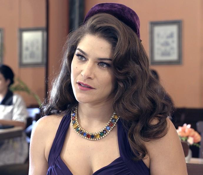 Diana é surpreendida com pergunta de Braz (Foto: TV Globo)