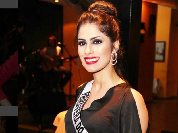 Miss Primavera do Leste, Lidia Paiva, 20 anos, tem 1,69m e 63 kg (Foto: Divulgação)