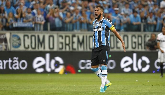 Maicon Grêmio Atlético-MG (Foto: Lucas Uebel/Divulgação Grêmio)