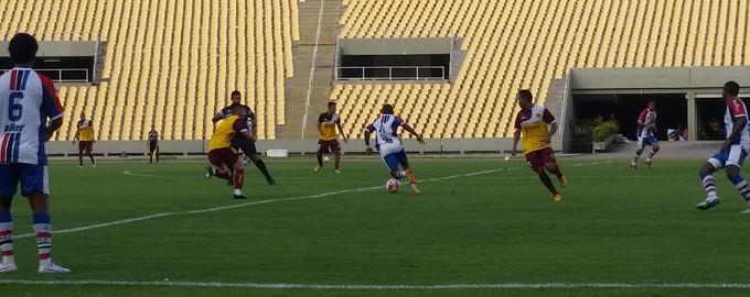 Maranhão joga contra reservas do Sampaio no Castelão (Foto: Bruno Alves / GloboEsporte.com)