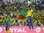 Gabão de Aubameyang empata com Camarões e sai da Copa Africana