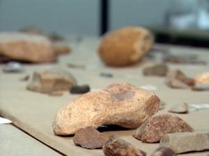 Pedras Arqueólogos (Foto: Reprodução/RBS TV)