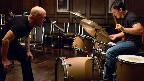 Miles Teller e J.K. Simmons – Whiplash: Em Busca da Perfeição (2014) (Foto: Divulgação)