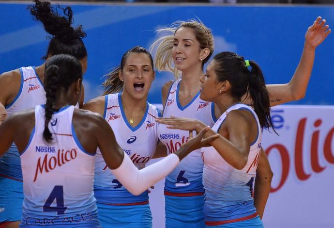 Osasco São Bernardo Superliga Feminina (Foto: João Pires/Fotojump)