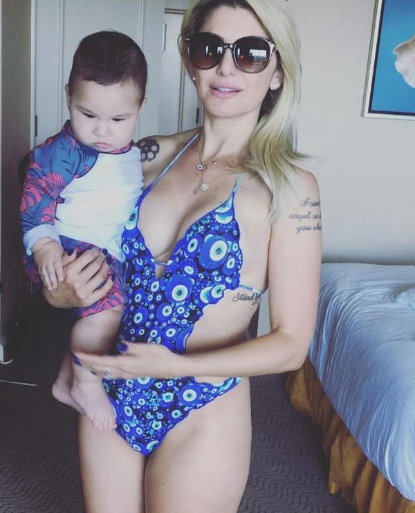 Antonia Fontenelle e filho (Foto: Reprodução Instagram)