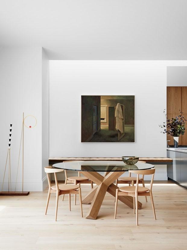 Sala de jantar minimalista 10 ideias de decora o casa for Ambientes minimalistas interiores