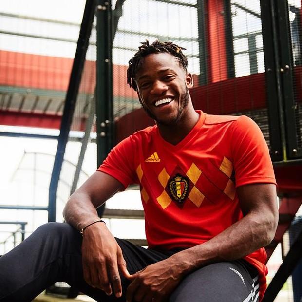 Uniforme da Bélgica para a Copa de 2018 (Foto: reprodução )