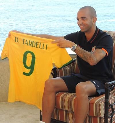 Diego Tardelli seleção brasileira (Foto: Fabio Lima)