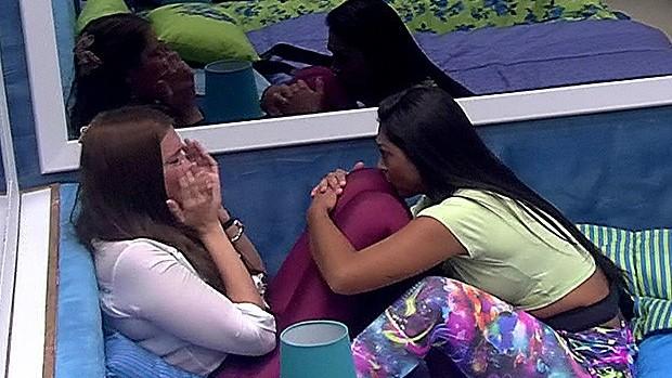 Tamires e Amanda (Foto: TV Globo)