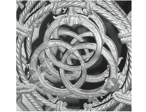Anéis na Igreja de Santa Croce (Foto: Reprodução/ENEM)