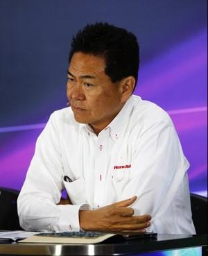 O japonês Yasuhisa Arai acredita que a Honda poderá encarar a Mercedes em 2015 (Foto: Divulgação / F1)