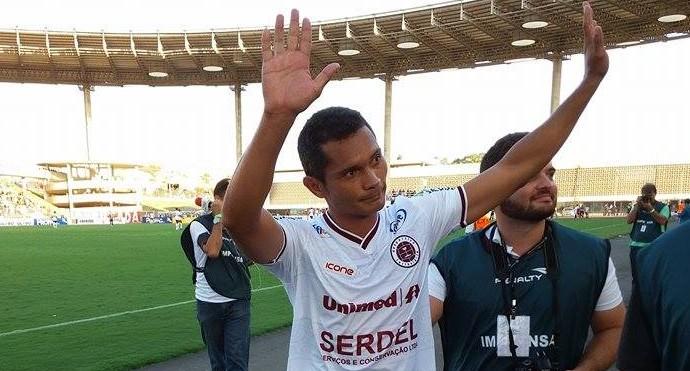 Léo Oliveira se despediu do futebol e da Desportiva Ferroviária (Foto: Richard Pinheiro/GloboEsporte.com)