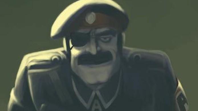 O design de Donald Morden foi evoluindo, mas o original era mais parecido com Saddam Hussein (Foto: Reprodução/Metal Slug Wiki)