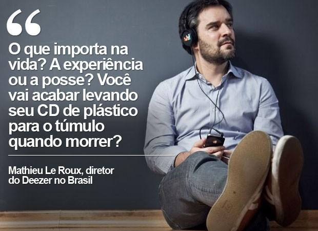 Cartela deezer (Foto: Divulgação/Deezer)
