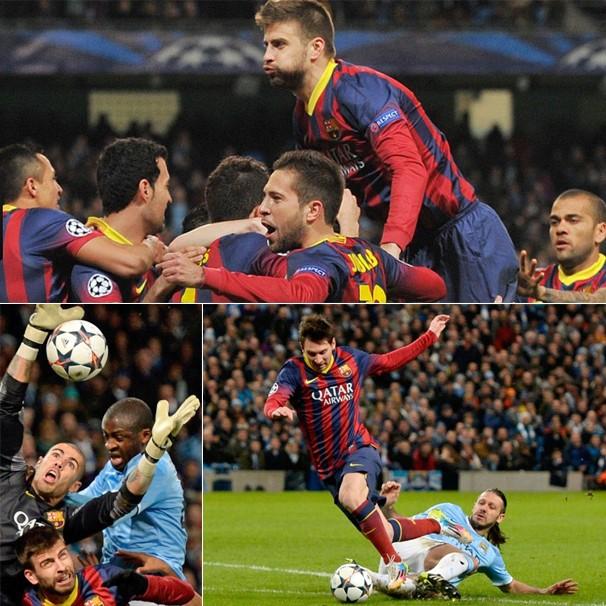A Globo exibe Barcelona x Manchester City em confronto pela Liga dos Campeões, quarta-feira, dia 12 (Foto: Getty Images)