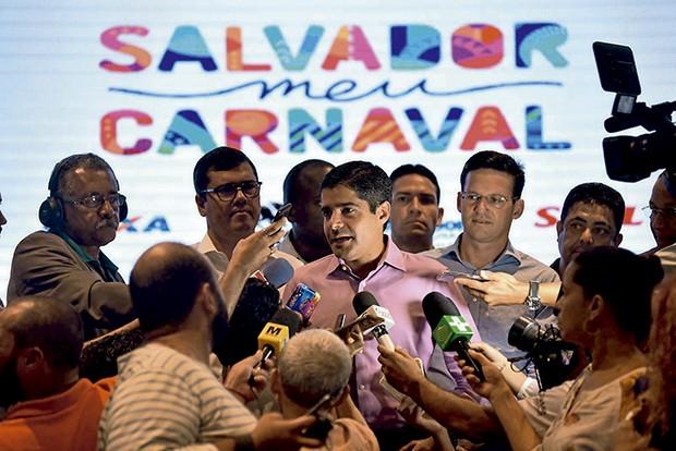 """O Prefeito de Salvador, ACM Neto durante coletiva """"Salvador  meu Carnaval"""" (Foto: Valter Pontes/ Agecom)"""