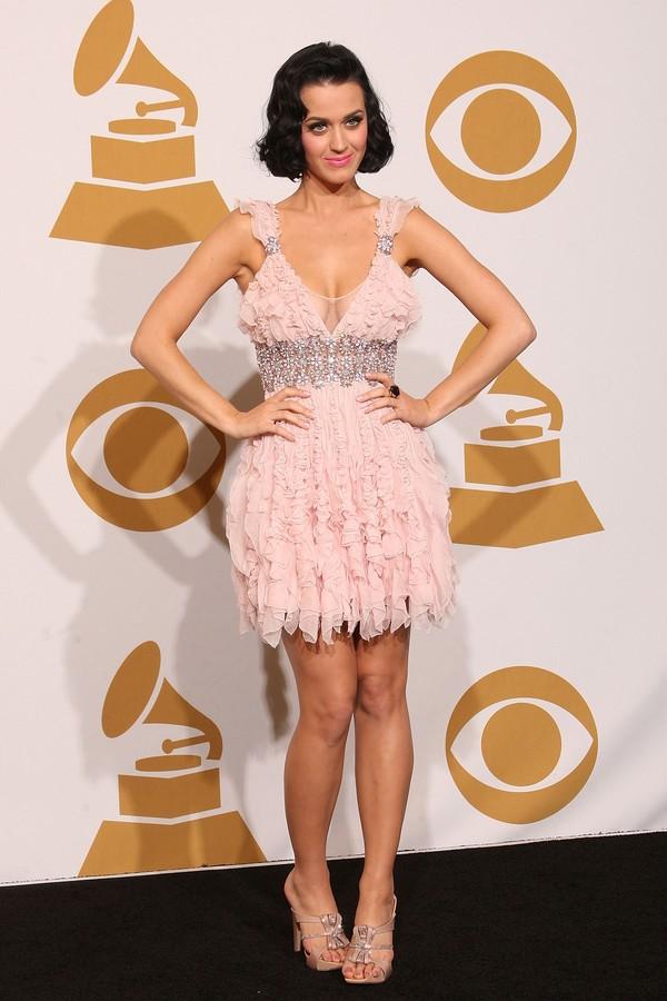 Katy Perry na 51ª cerimônia do Grammy em 2009 (Foto: Getty Images)
