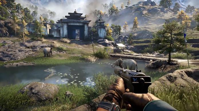 Far Cry 4 para PS4 ou PS3 dará 10 chaves para convidar amigos para jogar cooperativamente. (Foto: Divulgação)