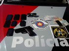 Dois são presos por roubo na zona oeste de São José dos Campos, SP