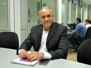 Candidato à prefeitura de Porto Velhp Dr. Ribamar Araújo (Foto: Angelina Ayres/Rede Amazônica)