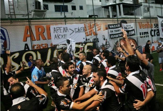 Vasco campeão Copa Rio futebol 7 (Foto: Reprodução Instagram)