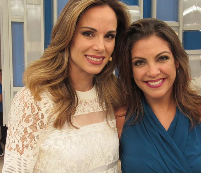 Ana Furtado conversou com Thalita Rebouças (Foto: Gabriela Bispo/ Gshow)