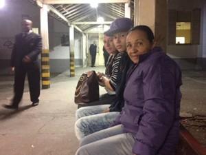Pacientes aguardam atendimento de ortopedista no PS do Jaçanã (Foto: Lívia Machado/G1)