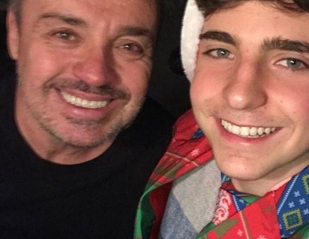 Gugu e João Augusto (Foto: Reprodução/Instagram)