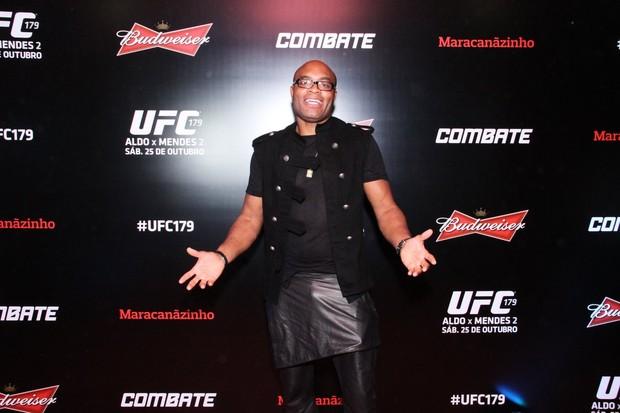 Anderson Silva (Foto: Thyago Andrade/Foto Rio News)