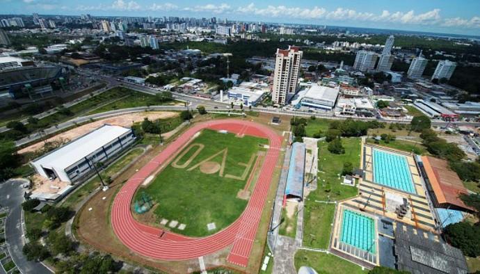 Vila Olímpica de Manaus (Foto: Divulgação/Semcom)